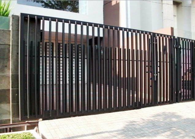 7 Desain Pintu Besi Rumah Minimalis Untuk Rumah Anda