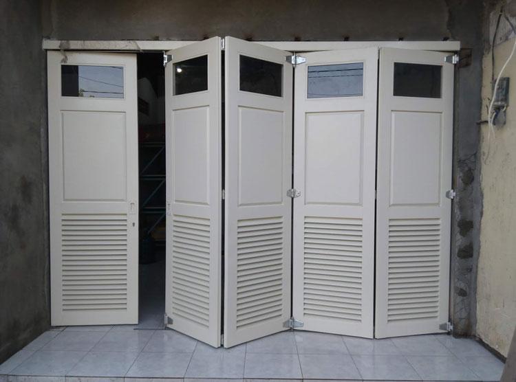 5 Model dan Harga Pintu Lipat Besi Hollow